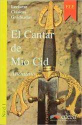 Lecturas Clasicas Graduadas - Level 1: El Cantar De Mio CID - фото обкладинки книги