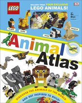 LEGO Animal Atlas : with four exclusive animal models - фото обкладинки книги