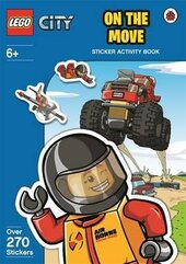 Lego City: On the Move. Sticker Activity Book - фото обкладинки книги