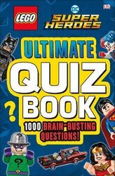 LEGO DC Comics Super Heroes. Ultimate Quiz Book: 1000 Brain-Busting Questions - фото обкладинки книги