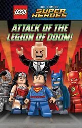 LEGO DC SUPERHEROES: Attack of the Legion of Doom! - фото обкладинки книги