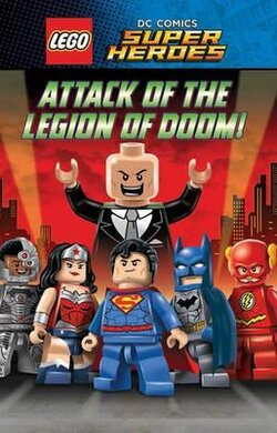 LEGO DC SUPERHEROES: Attack of the Legion of Doom! - фото книги