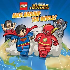 LEGO DC SUPERHEROES: Race Around the World - фото книги