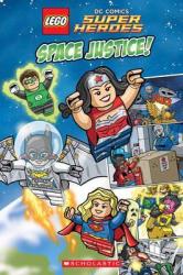 LEGO DC SUPERHEROES: Space Justice! - фото обкладинки книги
