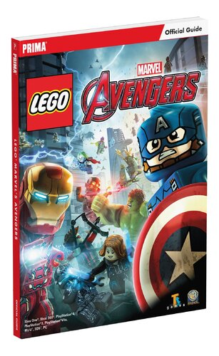 Книга LEGO Marvel's Avengers Standard Edition Strategy Guide