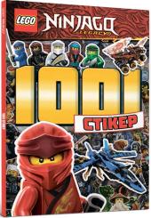 LEGO Ninjago. 1001 стікер - фото обкладинки книги