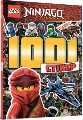 LEGO Ninjago. 1001 стікер - фото книги