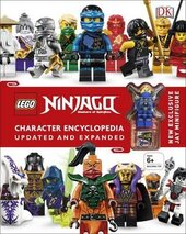 Lego Ninjago: Character Encyclopedia - фото обкладинки книги