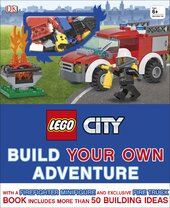 LEGO (R) City Build Your Own Adventure : With minifigure and exclusive model - фото обкладинки книги