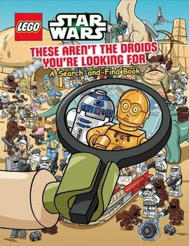 Lego Star Wars: These Aren't the Droids You're Looking For. A Search-and-Find Book - фото книги