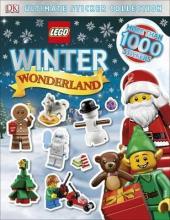 LEGO Winter Wonderland Ultimate Sticker Collection - фото обкладинки книги