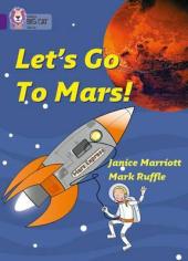 Let's Go to Mars! Workbook - фото обкладинки книги