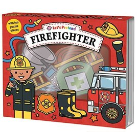 Let's Pretend: Firefighter - фото книги
