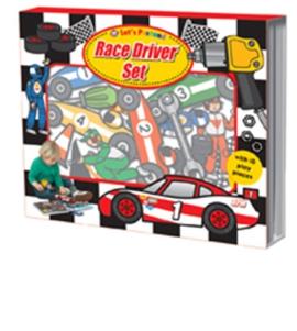 Let's Pretend: Race Driver Set - фото книги