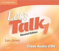Підручник Let's Talk Level 1 Class Audio CDs