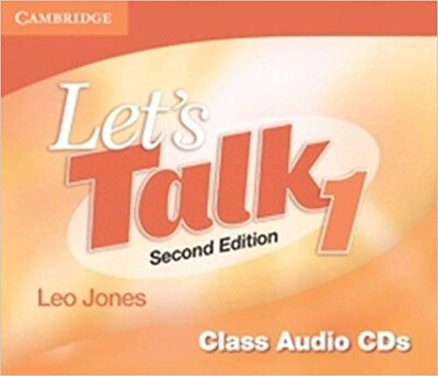 Аудіодиск Let's Talk Level 1 Class Audio CDs