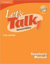 Let's Talk Level 1 Teacher's Manual with Audio CD - фото обкладинки книги
