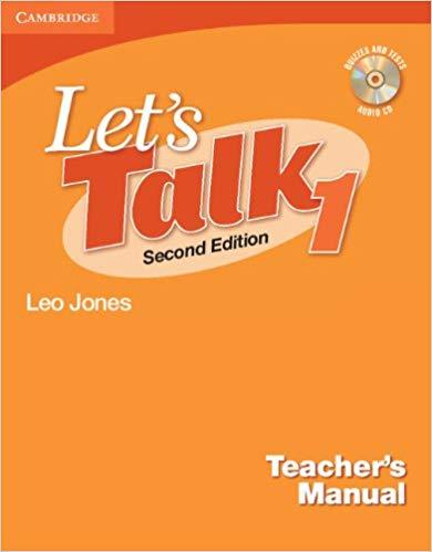 Книга для вчителя Let's Talk Level 1 Teacher's Manual with Audio CD