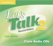 Книга для вчителя Let's Talk Level 2 Class Audio CDs 2