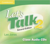 Підручник Let's Talk Level 2 Class Audio CDs 2