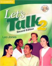Let's Talk, Level 2 Student's Book with Self-study Audio CD - фото обкладинки книги
