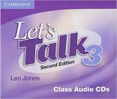 Підручник Let's Talk Level 3 Class Audio CDs