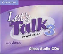 Підручник Let's Talk Level 3 Class Audio CDs