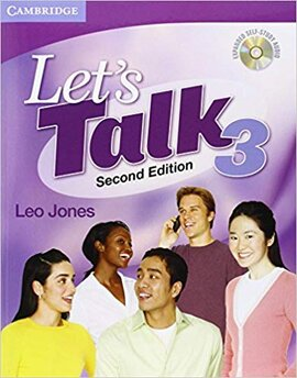 Підручник Let's Talk Level 3 Student's Book with Self-study Audio CD