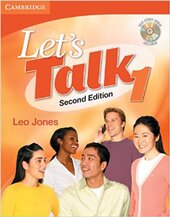 Let's Talk Student's Book 1 with Self-Study Audio CD - фото обкладинки книги