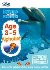 Letts Wild About English. Alphabet. Age 3-5 - фото обкладинки книги