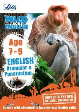 Letts Wild About English. Grammar and Punctuation. Age 7-9 - фото книги