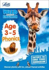 Letts Wild About English. Phonics. Age 3-5 - фото обкладинки книги
