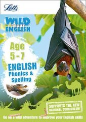 Letts Wild About English. Phonics and Spelling. Age 5-7 - фото обкладинки книги