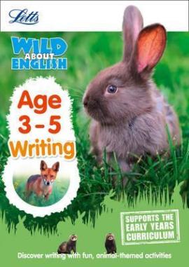 Letts Wild About English. Writing. Age 3-5 - фото книги