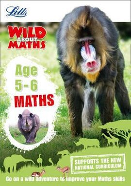 Letts Wild About Maths. Age 5-6 - фото книги