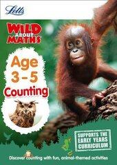 Letts Wild About Maths. Counting. Age 3-5 - фото обкладинки книги