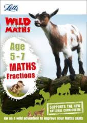Letts Wild About Maths. Fractions. Age 5-7 - фото обкладинки книги