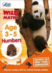 Letts Wild About Maths. Numbers. Age 3-5 - фото обкладинки книги