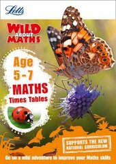 Letts Wild About Maths. Times Tables. Age 5-7 - фото обкладинки книги