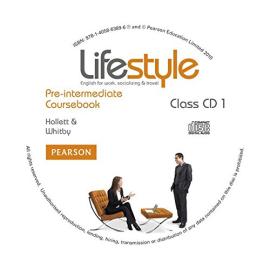 Lifestyle Pre-Intermediate Class CD's (аудіодиск) - фото книги