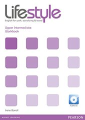 Lifestyle Upper Intermediate Work book (робочий зошит+аудіодиск) - фото обкладинки книги