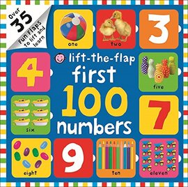 Lift-the-Flap: First 100 Numbers - фото книги