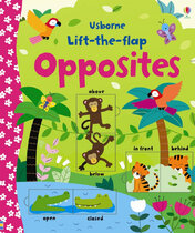 Книга Lift-the-flap Opposites