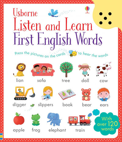 Книга Listen and Learn First English Words