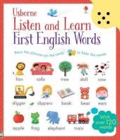 Listen and Learn. First English Words - фото обкладинки книги