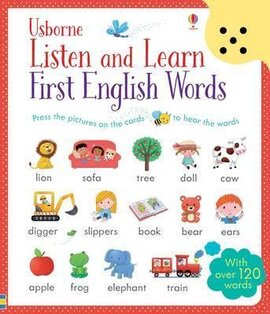 Listen and Learn. First English Words - фото книги