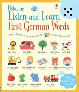 Listen and Learn. First Words in German - фото книги