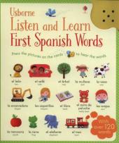 Listen and Learn. First Words in Spanish - фото обкладинки книги