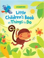 Little Children's Book of Things to Do - фото обкладинки книги
