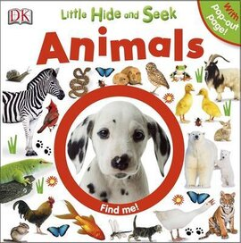 Little Hide and Seek Animals - фото книги